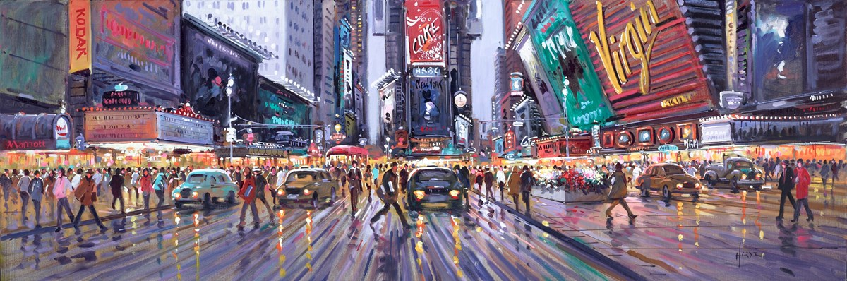 Time Square Evening